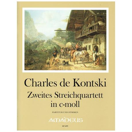 Kontski, Ch. d.: Streichquartett Nr. 2 c-Moll