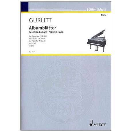 Gurlitt, C.: Albumblätter Op. 147