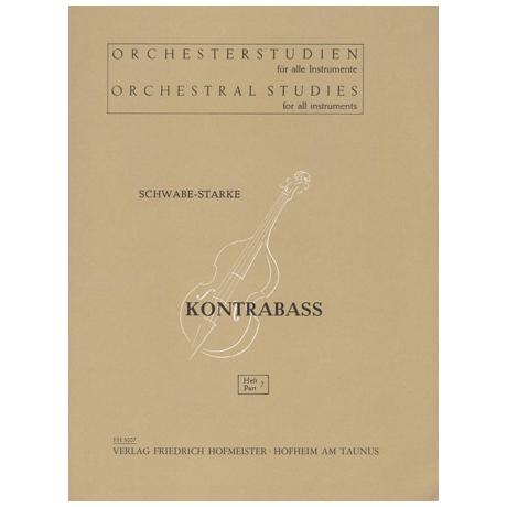 Schwabe / Starke, A.: Orchesterstudien Band 7 - Wagner: Walküre, Siegfried, Der Ring des Nibelungen
