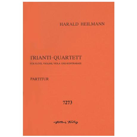 Heilmann, H.: Trianti-Quartett Op. 155