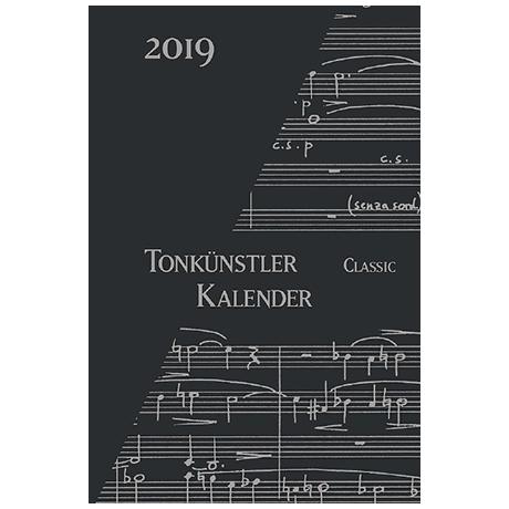 Tonkünstler-Kalender »Classic« 2019