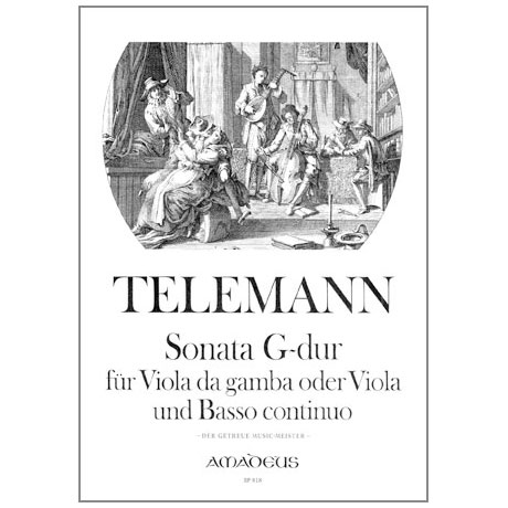 Telemann, G. Ph.: Violasonate G-Dur aus der Getreue Music Meister
