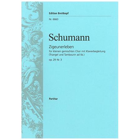 Schumann, R.: Zigeunerleben Op. 29/3