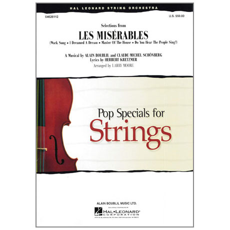 Pop Specials for Strings - Les Misérables