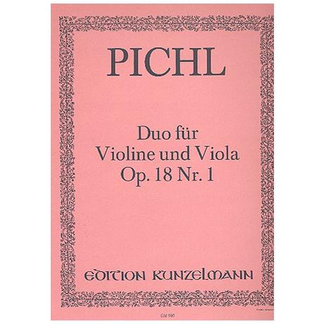 Pichl, V.: Duo Op. 18/1 D-Dur