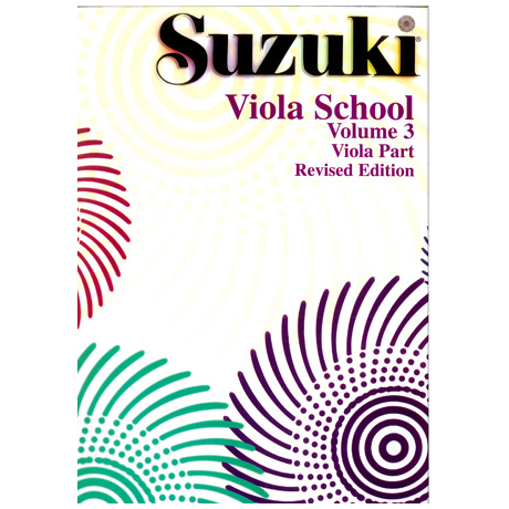 Suzuki Viola School Vol. 3