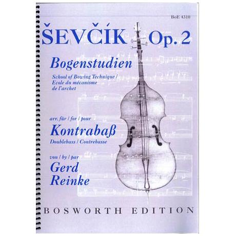 Ševčík, O.: Schule der Bogentechnik Op. 2