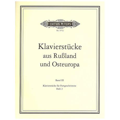Klavierstücke aus Russland und Osteuropa Band III Heft 2