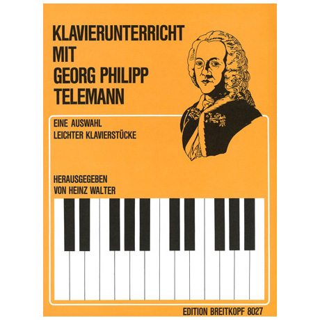 Telemann, G. Ph.: Leichte Klavierstücke