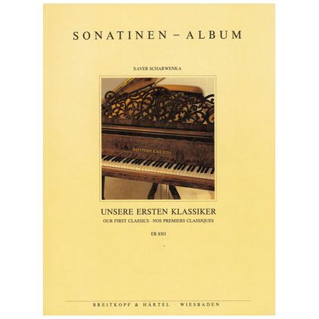 Sonatinen-Album Unsere ersten Klassiker (X. Scharwenka)