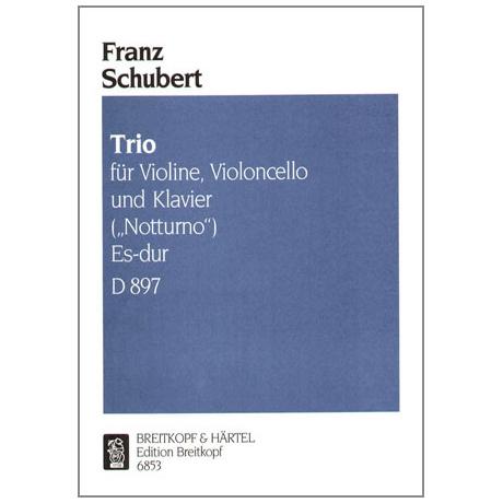 Schubert, F.: Notturno Op. posth. 148 D 897 Es-Dur