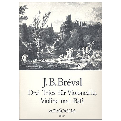 Bréval, J. B.: 3 Trios Op. 39