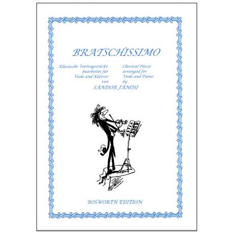Janosi, S.: Bratschissimo – Klassische Vortragsstücke