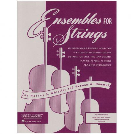 Ensembles For Strings – Cello