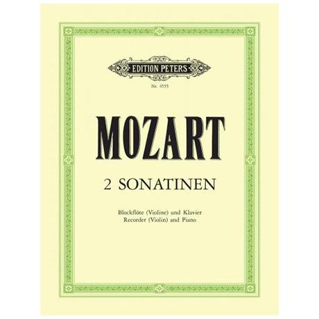 Mozart, W. A.: 2 Sonatinen nach KV 439b