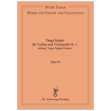 Taban, P.: Tango Sonate Nr. 1 Op. 43 (2017)
