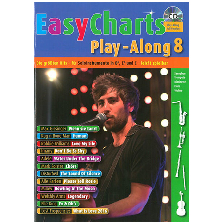 Easy Charts Playalong Band 8 (+ CD)