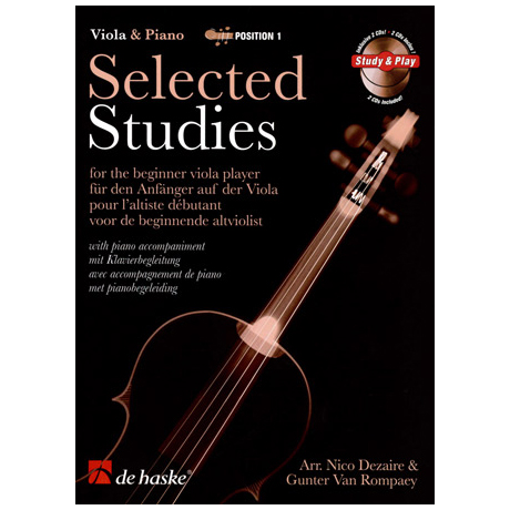 Selected Studies for Viola Band 1 (+CD)