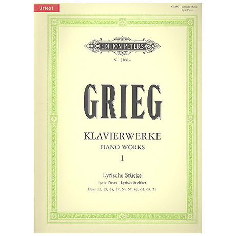 Grieg, E. H.: Piano Works I – Lyric Pieces