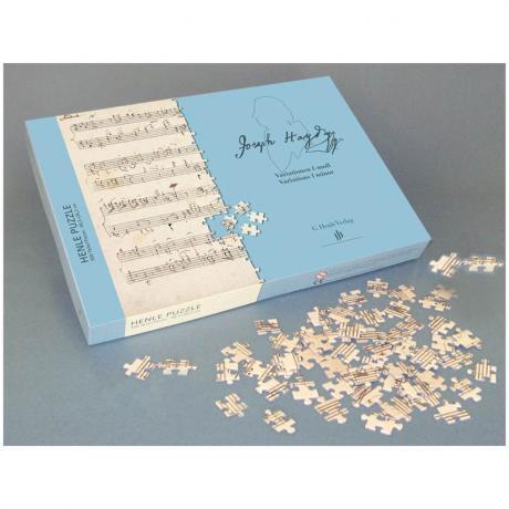 Haydn-Puzzle »Variationen f-Moll«