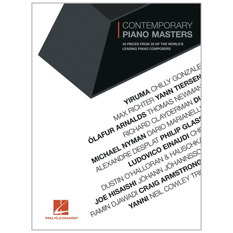 Contemporary Piano Masters