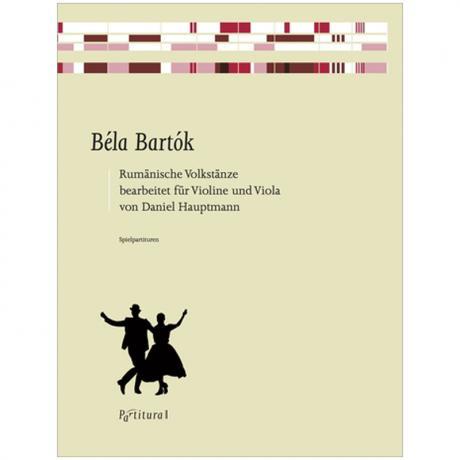 Bartók, B.: Rumänische Volkstänze Sz. 86
