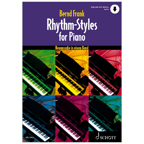 Frank, B.: Rhythm-Styles for Piano (+Online Audio)