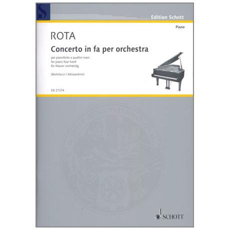 Rota, N.: Concerto in fa per orchestra
