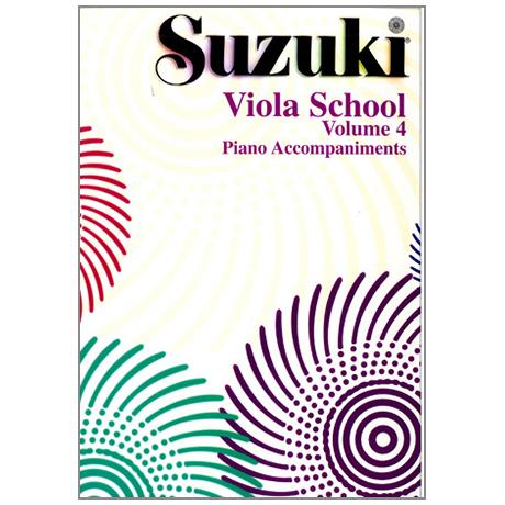 Suzuki Viola School Vol. 4 – Klavierbegleitung
