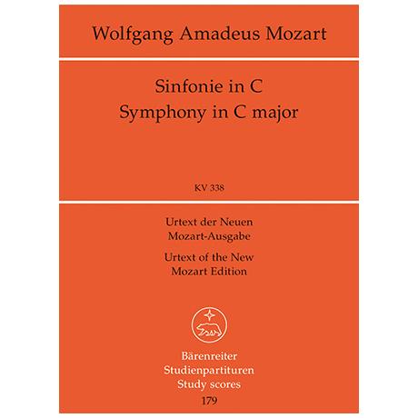 Mozart, W. A.: Sinfonie Nr. 34 C-Dur KV 338
