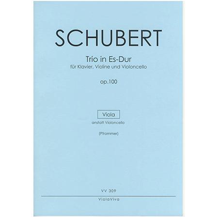 Schubert, F.: Klaviertrio D 929 Op. 100 Es-Dur – Violastimme