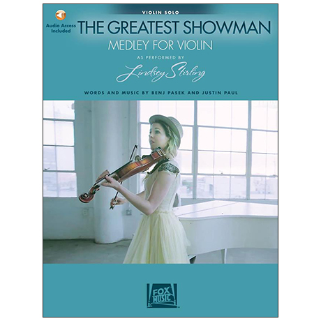 Lindsey Stirling: The Greatest Showman for Violin (+Online Audio)