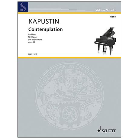 Kapustin, N.: Contemplation Op. 47 (1987)