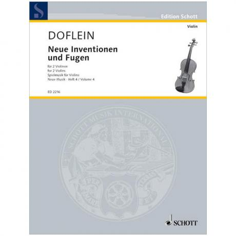 Doflein, E.: Neue Inventionen und Fugen