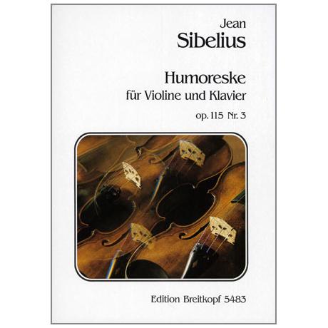 Sibelius, J.: Auf der Heide – Humoreske Nr. 3 Op. 115