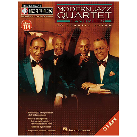 Modern Jazz Quartet Favorites (+CD)