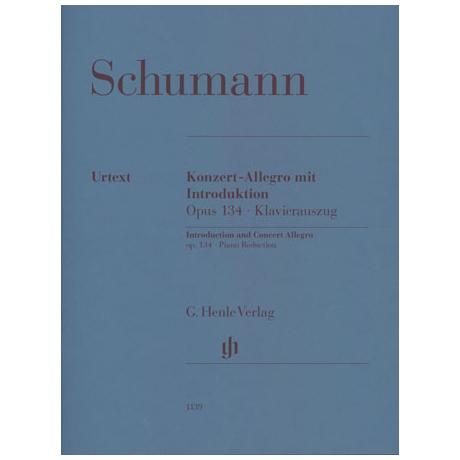 Schumann: Konzert-Allegro mit Introduktion Op. 134
