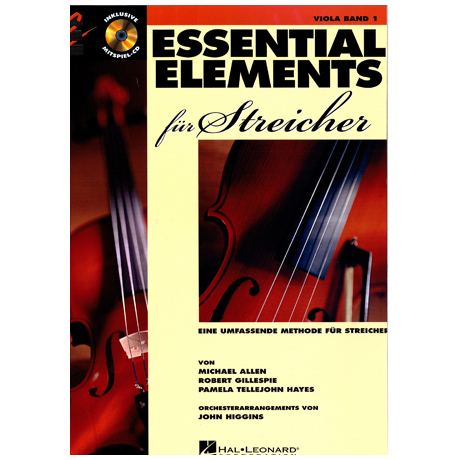 Allen, M.: Essential Elements für Streicher Band 1 – Viola (+CD)