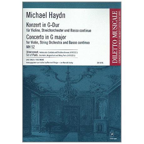 Haydn, M.: Violinkonzert für MH 52 G-Dur