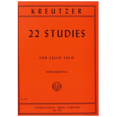 Kreutzer, R.: 22 ausgewählte Etüden