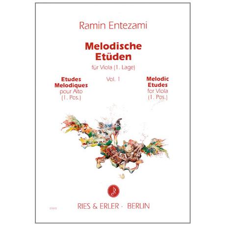 Entezami, R.: Melodische Etüden für Viola Band 1