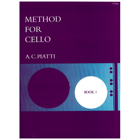 Piatti, A. C.: Method for cello vol.1
