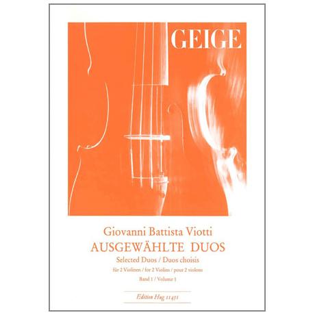 Viotti, G. B.: Ausgewählte Duos Band 1