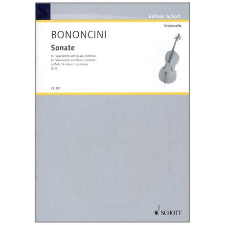 Bononcini, G. B.: Violoncellosonate a-Moll