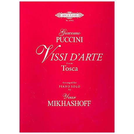 Puccini, G.: Vissi d´arte aus Tosca für Klavier
