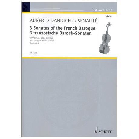 3 französische Barock Sonaten