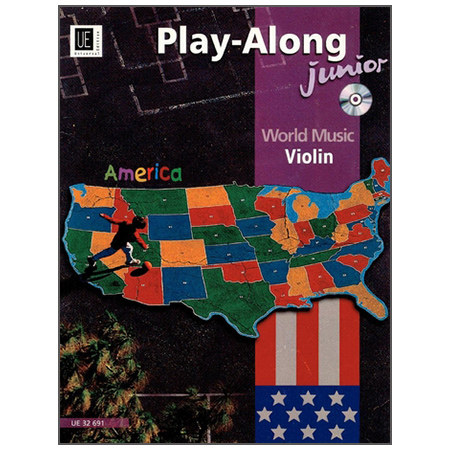 America – Play-Along junior (+CD)