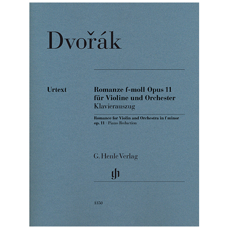 Dvorák, A.: Romanze Op. 11 f-Moll