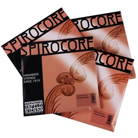 THOMASTIK Spirocore bass strings SET