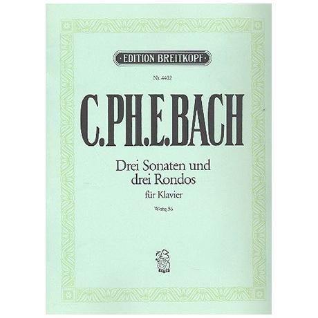 Bach, C. Ph. E.: Klaviersonaten nebst einigen Rondos Wq 56